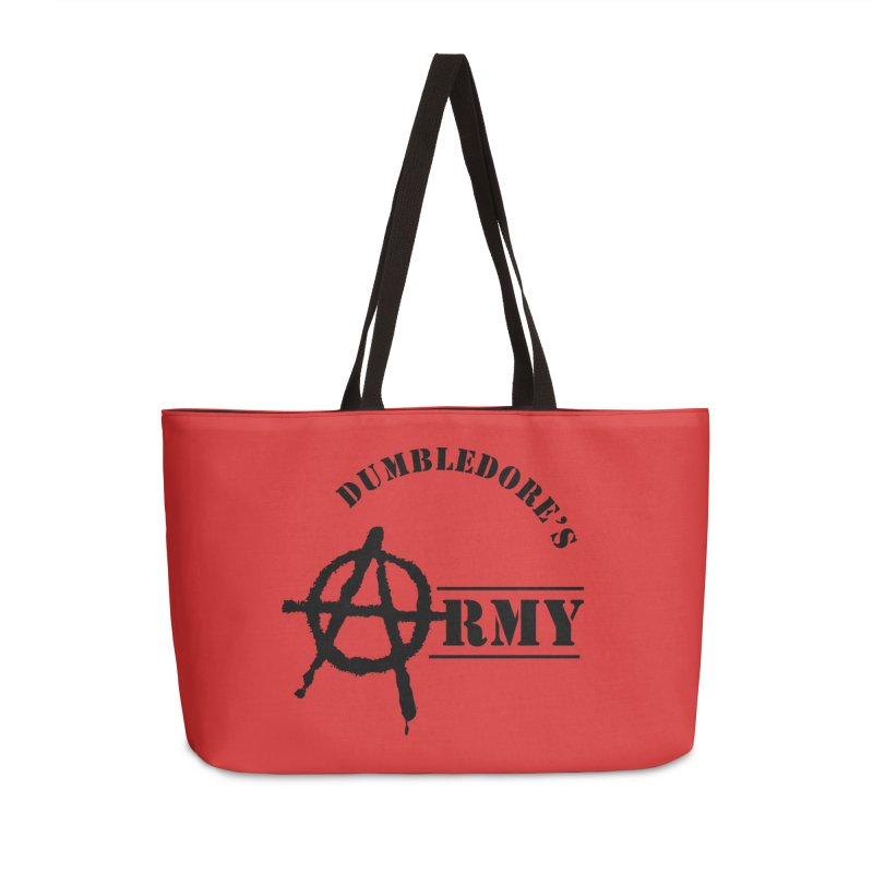 Dumbledore's Army - Black Accessories Bag by DRACULAD Shop