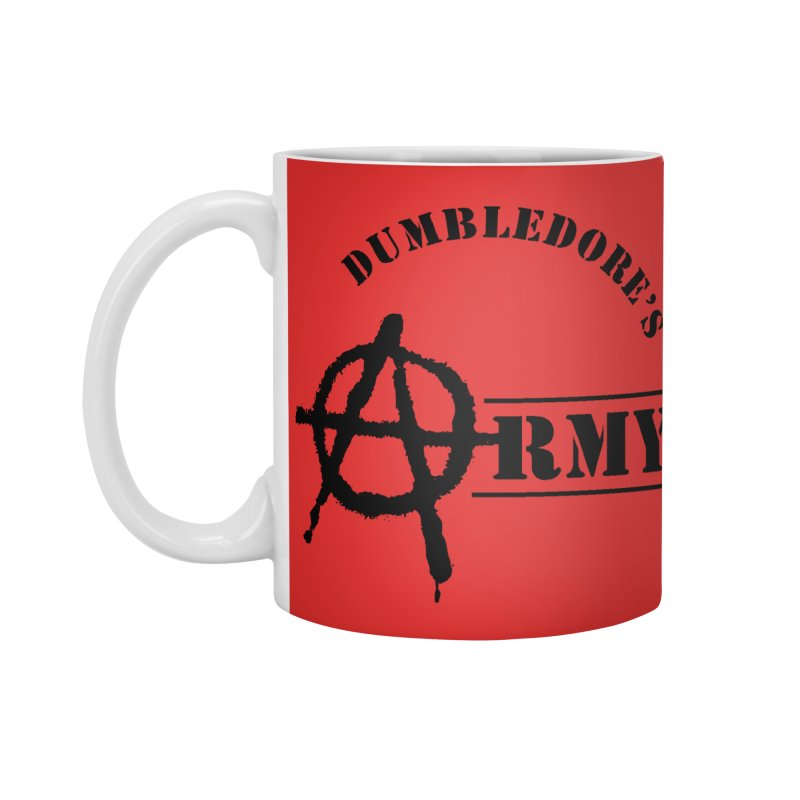 Dumbledore's Army - Black Accessories Standard Mug by DRACULAD Shop