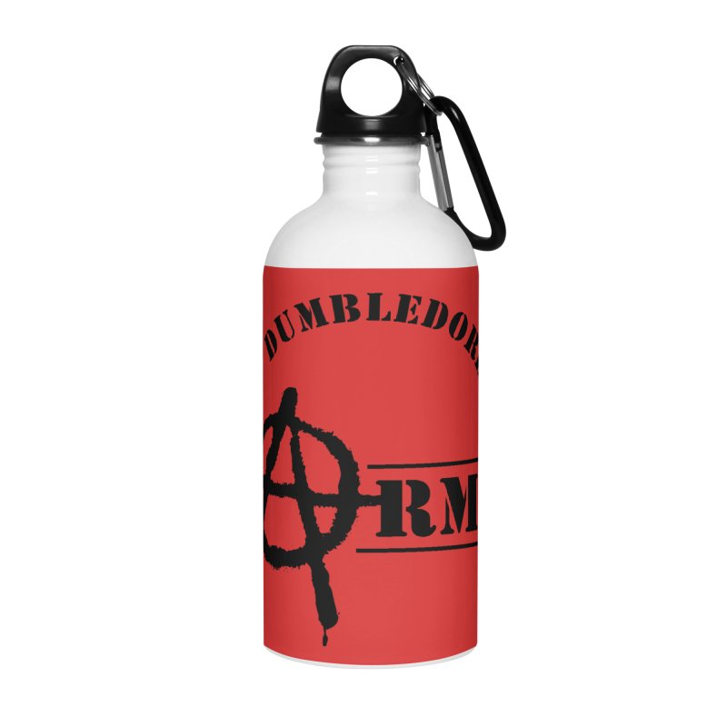 Dumbledore's Army - Black Accessories Water Bottle by DRACULAD Shop