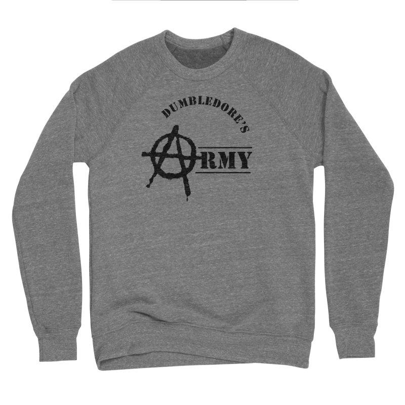 Dumbledore's Army - Black Men's Sponge Fleece Sweatshirt by DRACULAD Shop