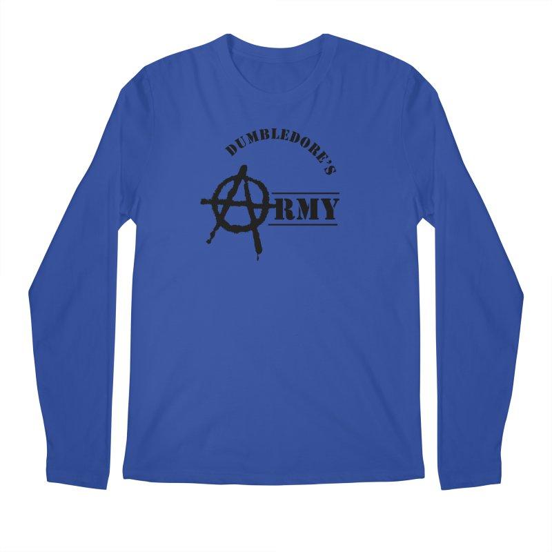Dumbledore's Army - Black Men's Regular Longsleeve T-Shirt by DRACULAD Shop