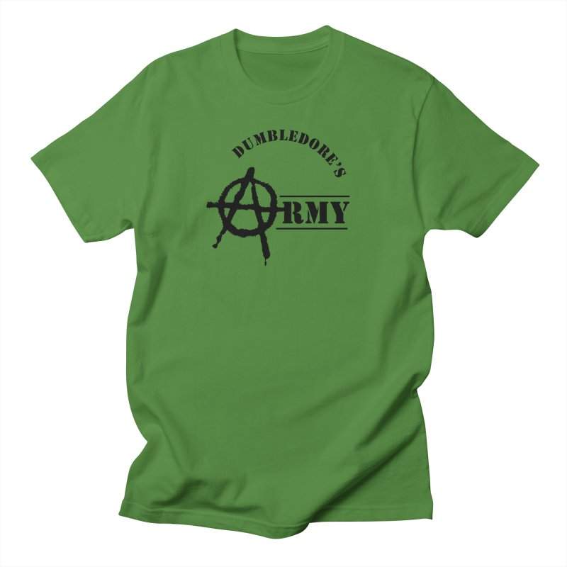 Dumbledore's Army - Black Women's Regular Unisex T-Shirt by DRACULAD Shop