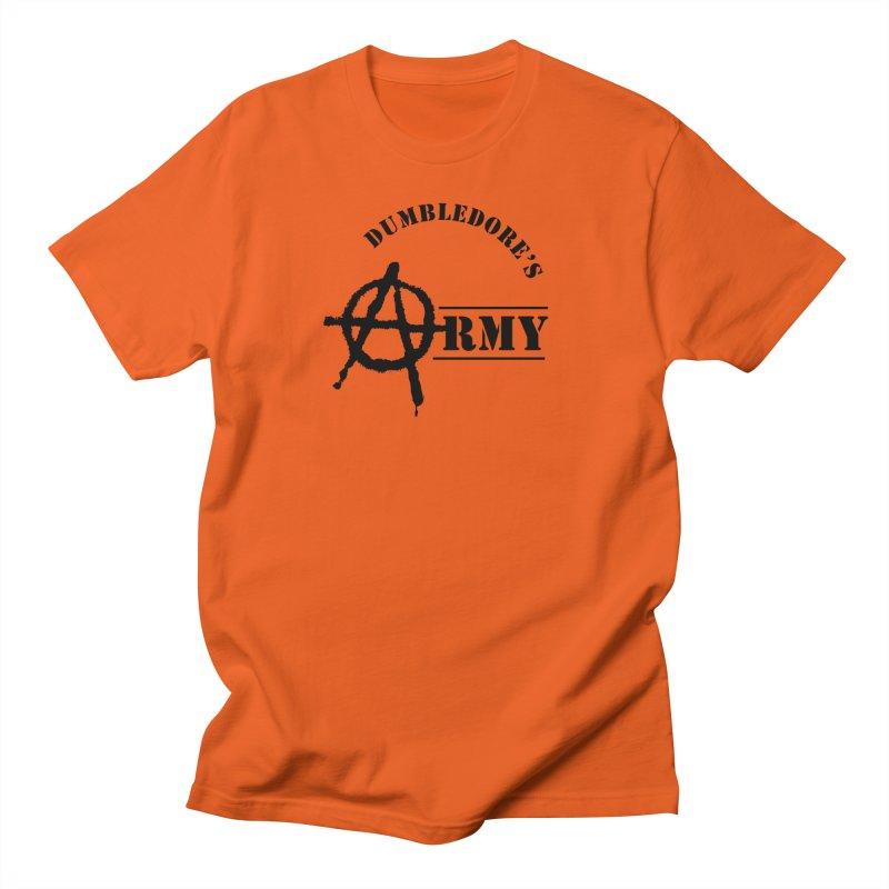 Dumbledore's Army - Black Men's Regular T-Shirt by DRACULAD Shop