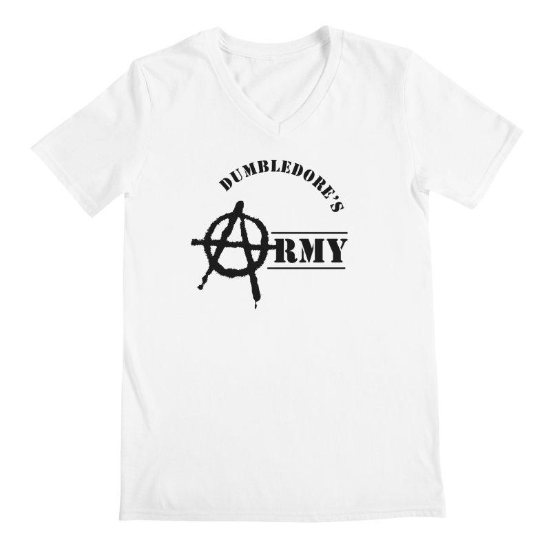 Dumbledore's Army - Black Men's V-Neck by DRACULAD Shop