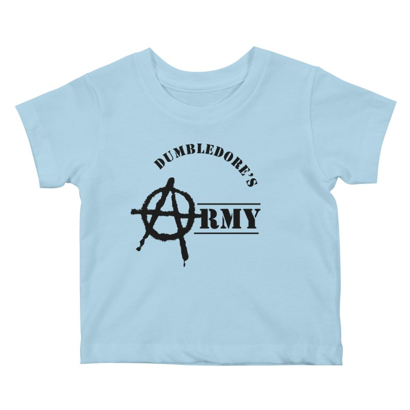 Dumbledore's Army - Black Kids Baby T-Shirt by DRACULAD Shop