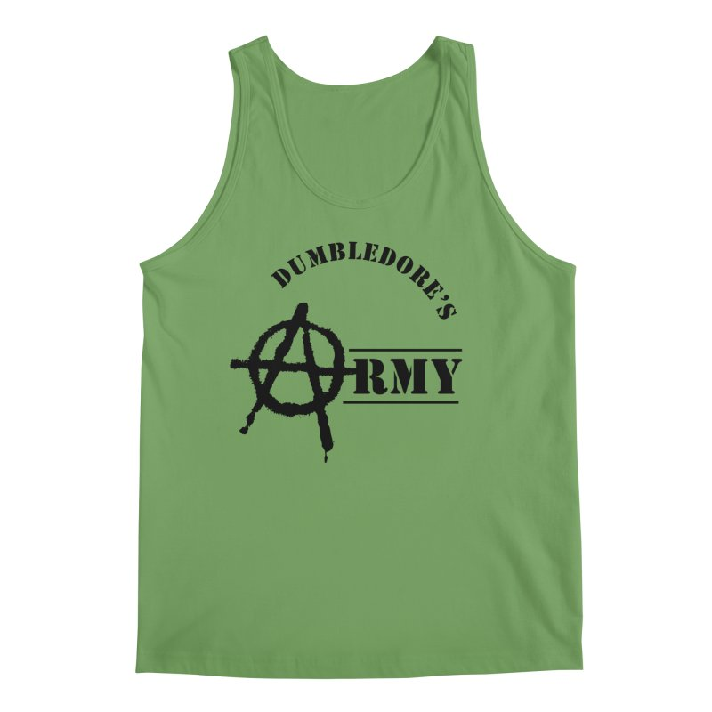 Dumbledore's Army - Black Men's Tank by DRACULAD Shop