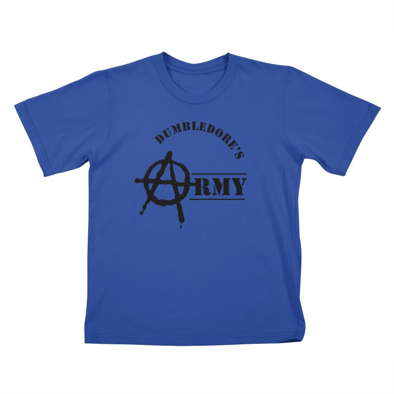Dumbledore's Army - Black Kids T-Shirt by DRACULAD Shop