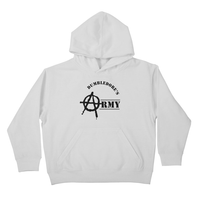 Dumbledore's Army - Black Kids Pullover Hoody by DRACULAD Shop
