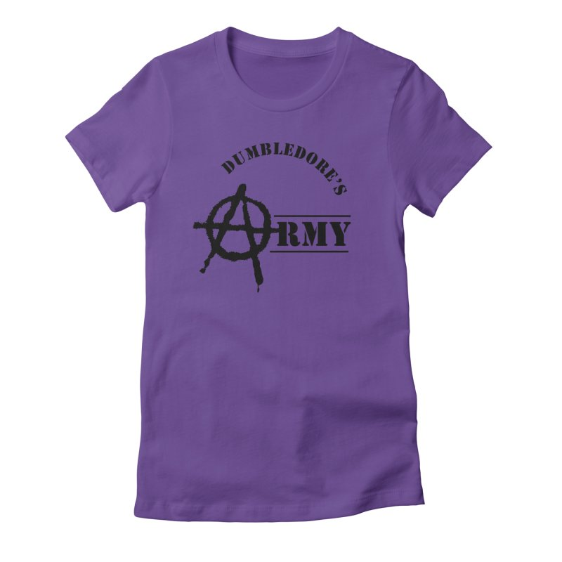 Dumbledore's Army - Black Women's Fitted T-Shirt by DRACULAD Shop