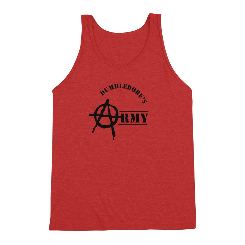 Dumbledore's Army - Black Men's Triblend Tank by DRACULAD Shop