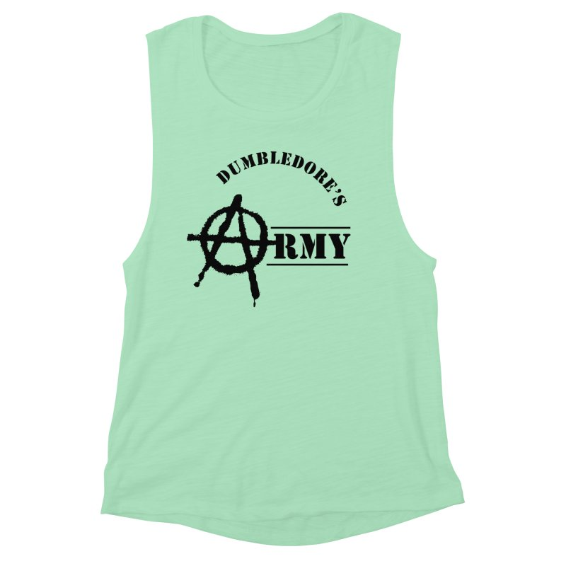 Dumbledore's Army - Black Women's Muscle Tank by DRACULAD Shop