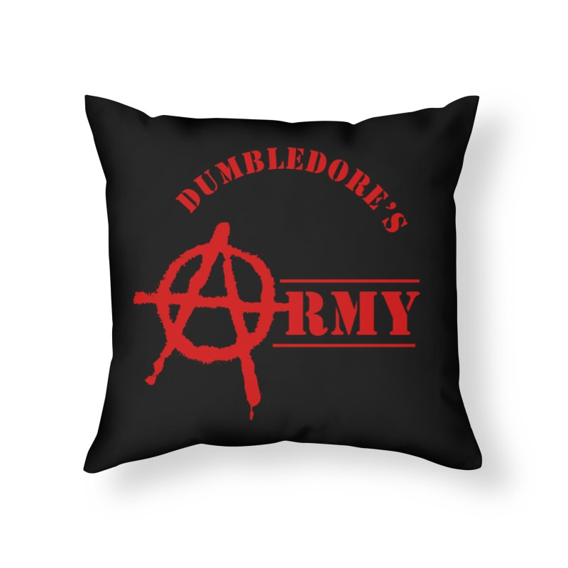 Dumbledore's Army - Red Home Throw Pillow by DRACULAD Shop