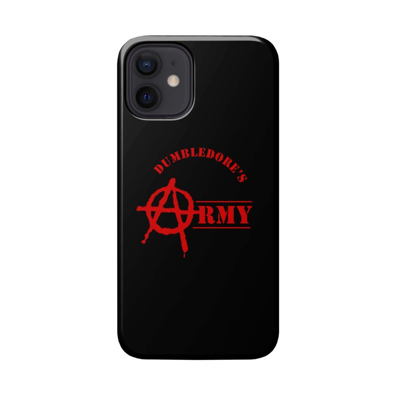 Dumbledore's Army - Red Accessories Phone Case by DRACULAD Shop