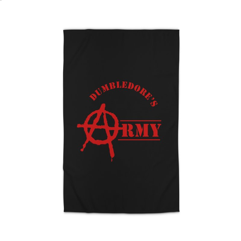 Dumbledore's Army - Red Home Rug by DRACULAD Shop