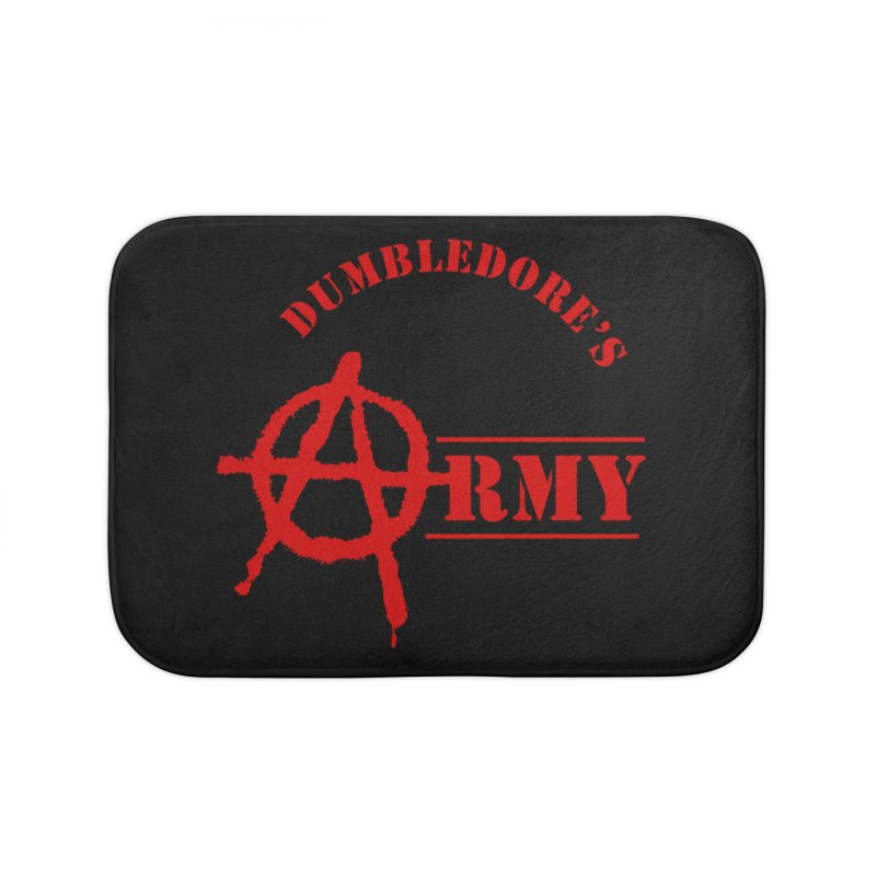 Dumbledore's Army - Red Home Bath Mat by DRACULAD Shop