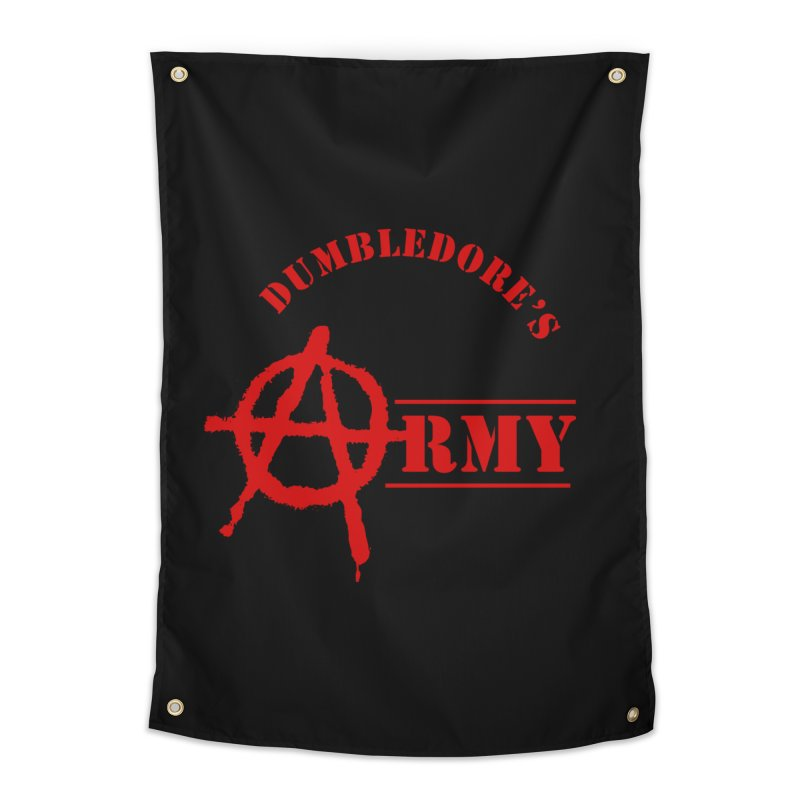 Dumbledore's Army - Red Home Tapestry by DRACULAD Shop