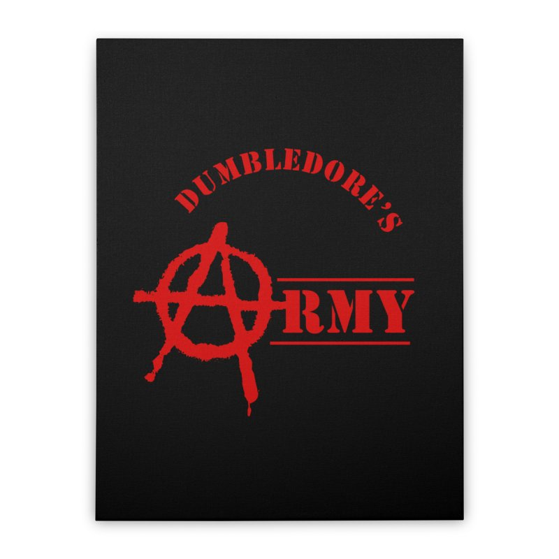 Dumbledore's Army - Red Home Stretched Canvas by DRACULAD Shop