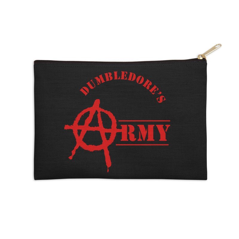 Dumbledore's Army - Red Accessories Zip Pouch by DRACULAD Shop