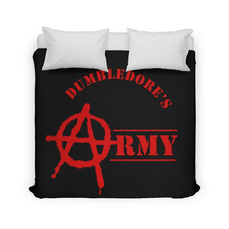 Dumbledore's Army - Red Home Duvet by DRACULAD Shop