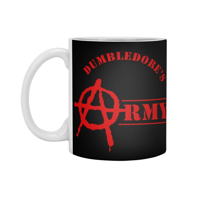 Dumbledore's Army - Red Accessories Standard Mug by DRACULAD Shop