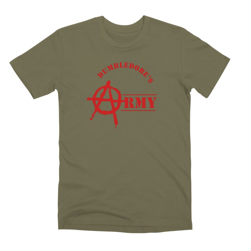 Dumbledore's Army - Red Men's Premium T-Shirt by DRACULAD Shop