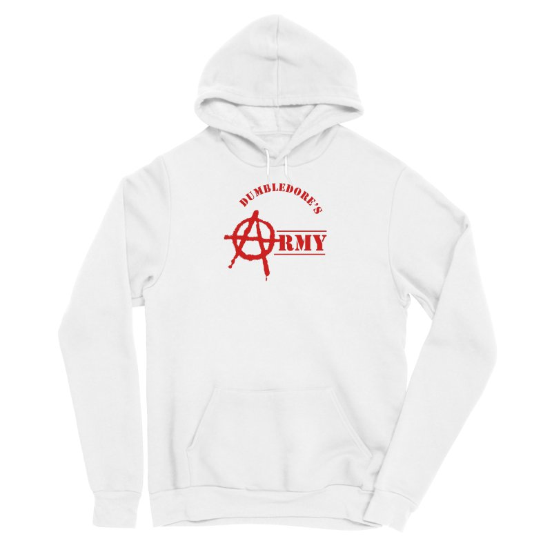 Dumbledore's Army - Red Men's Pullover Hoody by DRACULAD Shop