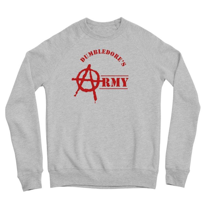 Dumbledore's Army - Red Men's Sponge Fleece Sweatshirt by DRACULAD Shop