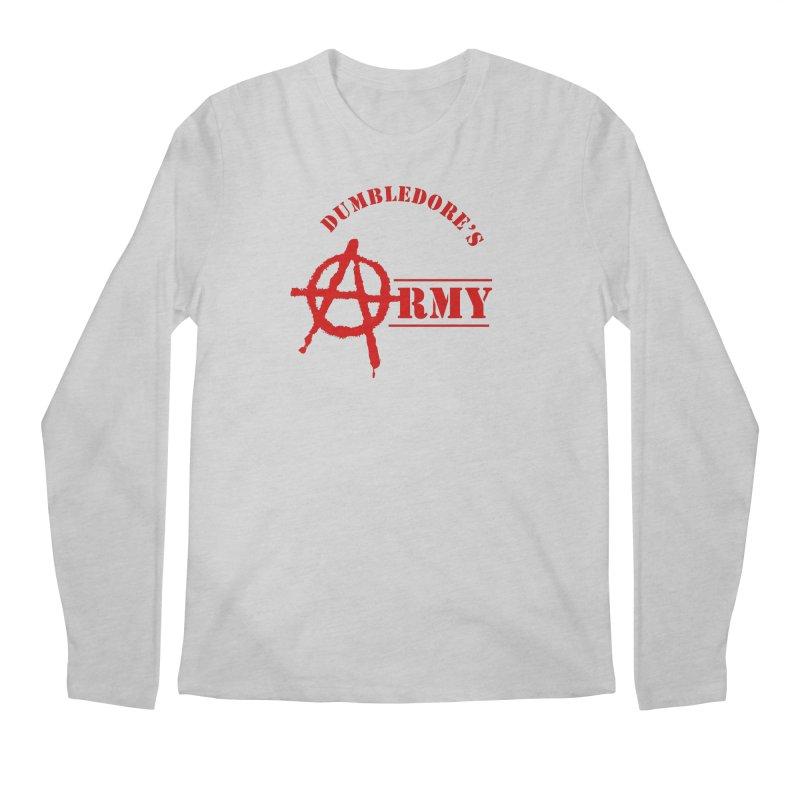 Dumbledore's Army - Red Men's Regular Longsleeve T-Shirt by DRACULAD Shop