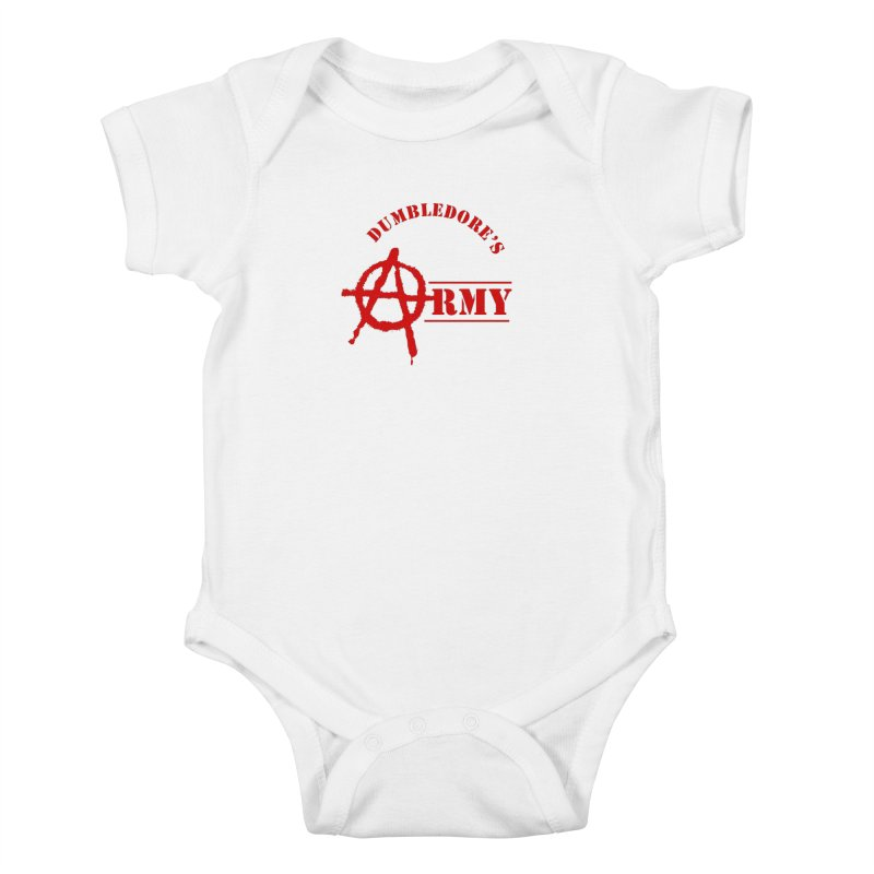 Dumbledore's Army - Red Kids Baby Bodysuit by DRACULAD Shop