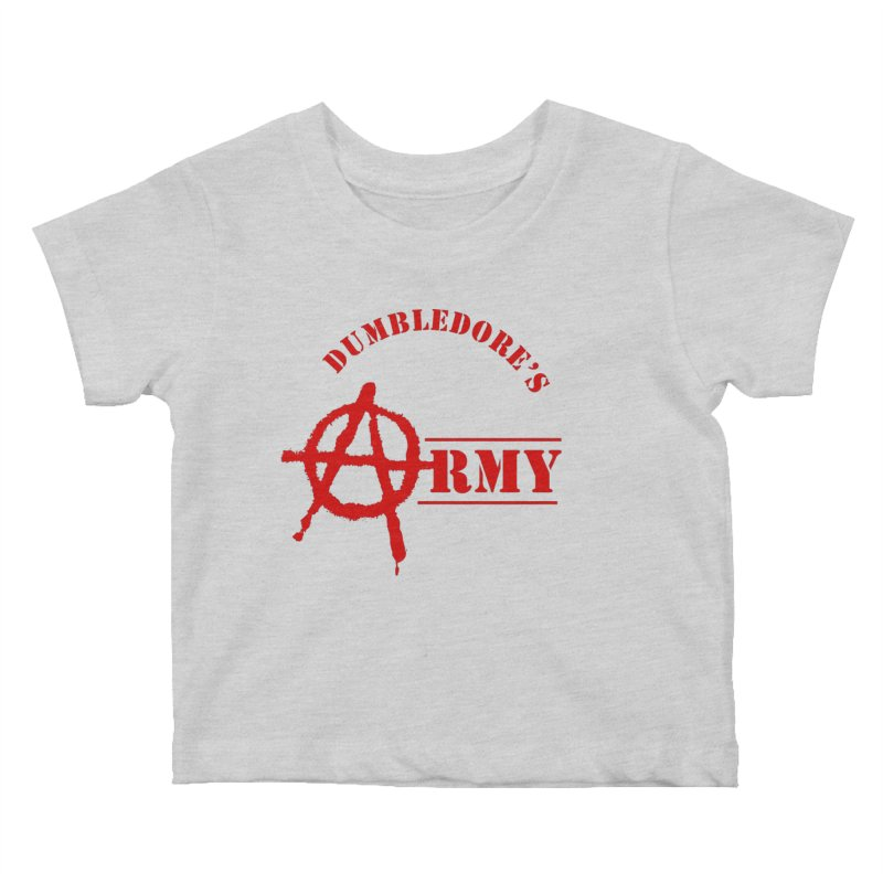 Dumbledore's Army - Red Kids Baby T-Shirt by DRACULAD Shop