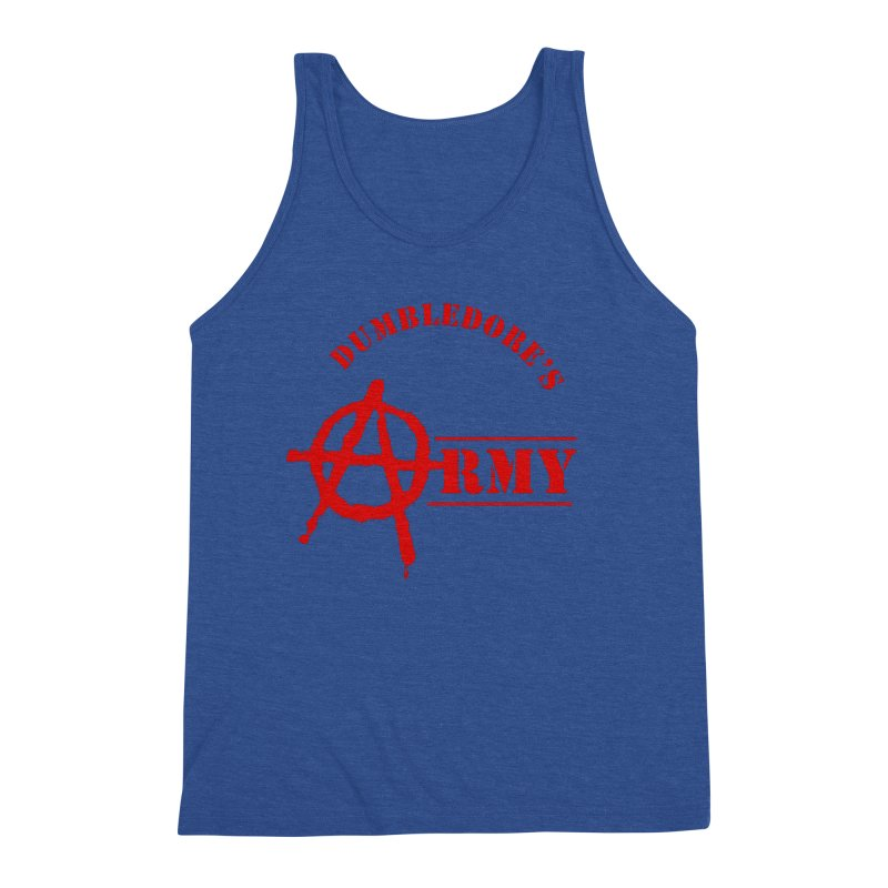 Dumbledore's Army - Red Men's Tank by DRACULAD Shop