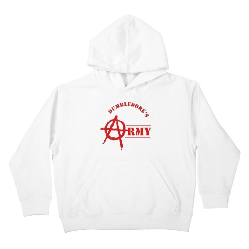 Dumbledore's Army - Red Kids Pullover Hoody by DRACULAD Shop
