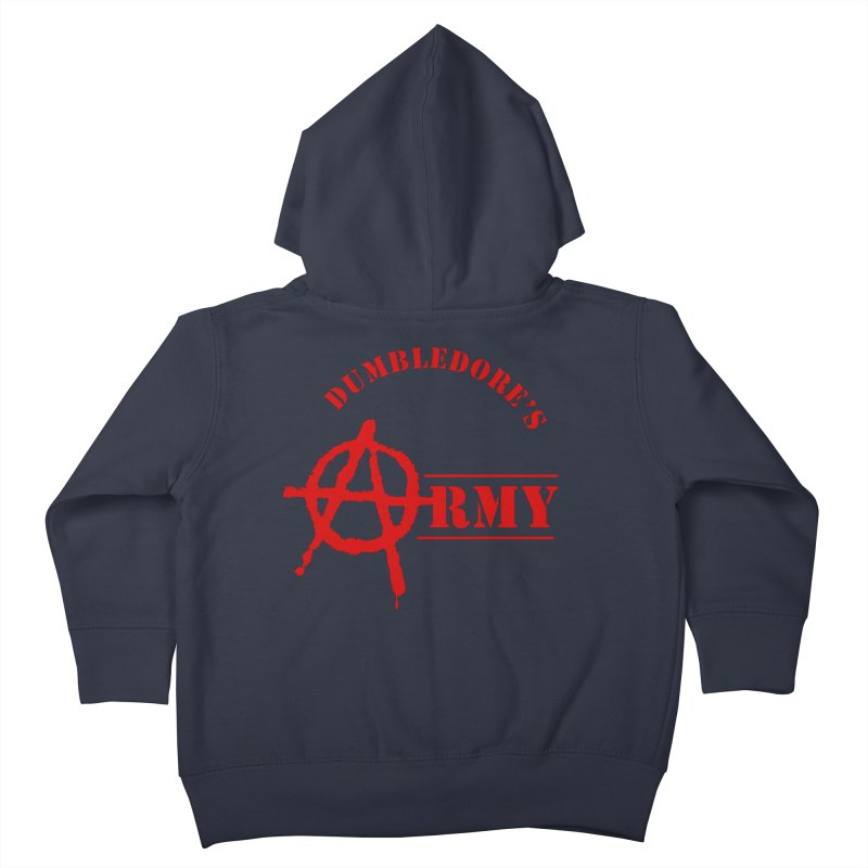 Dumbledore's Army - Red Kids Toddler Zip-Up Hoody by DRACULAD Shop