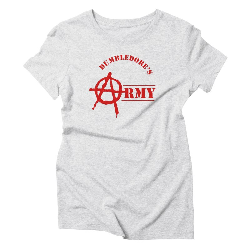 Dumbledore's Army - Red Women's Triblend T-Shirt by DRACULAD Shop