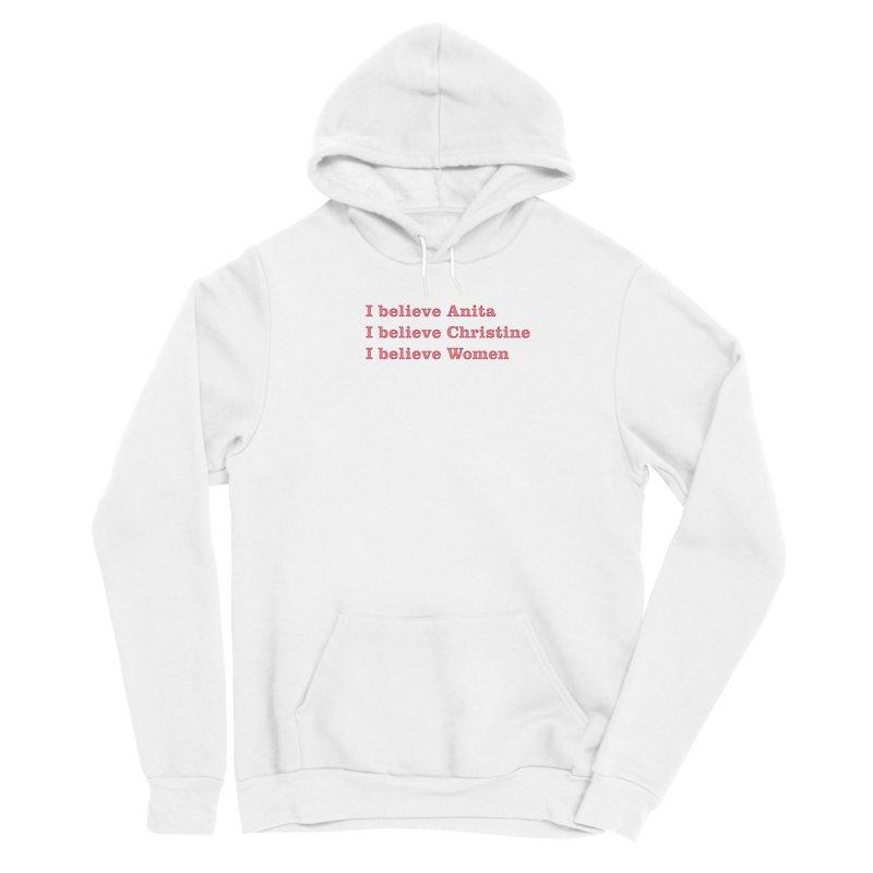 I Believe Women Women's Pullover Hoody by DRACULAD Shop