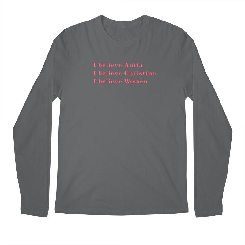 I Believe Women Men's Longsleeve T-Shirt by DRACULAD Shop