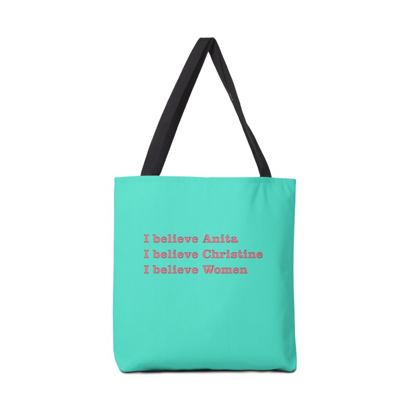 I Believe Women Accessories Tote Bag Bag by DRACULAD Shop