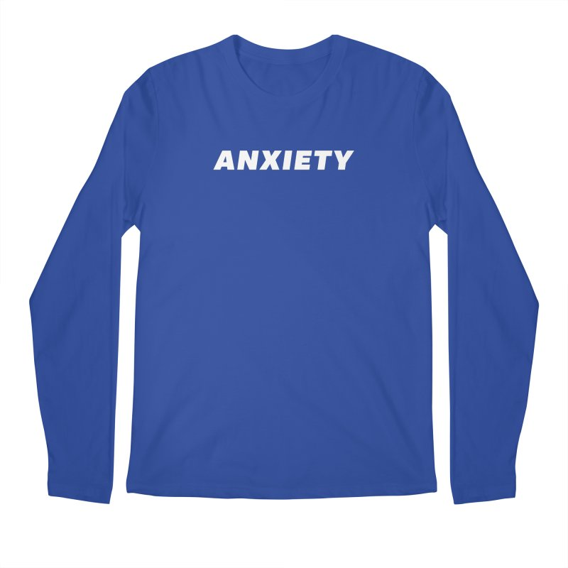 ANXIETY Men's Regular Longsleeve T-Shirt by DRACULAD Shop