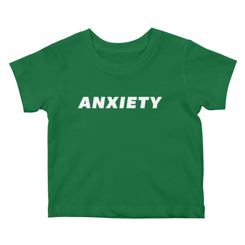 ANXIETY Kids Baby T-Shirt by DRACULAD Shop