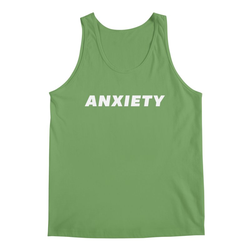 ANXIETY Men's Tank by DRACULAD Shop