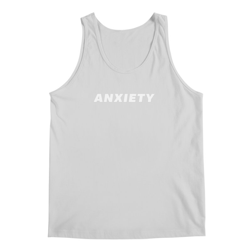 ANXIETY Men's Regular Tank by DRACULAD Shop