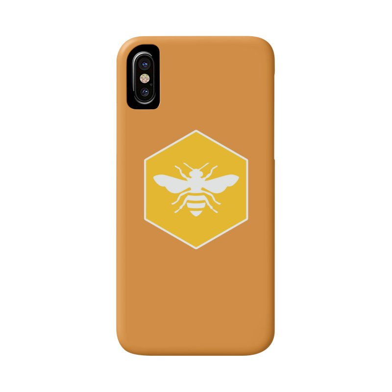 Bee Badge Accessories Phone Case by DRACULAD Shop