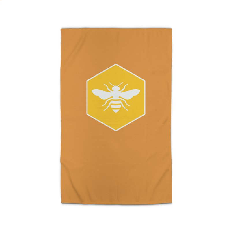 Bee Badge Home Rug by DRACULAD Shop