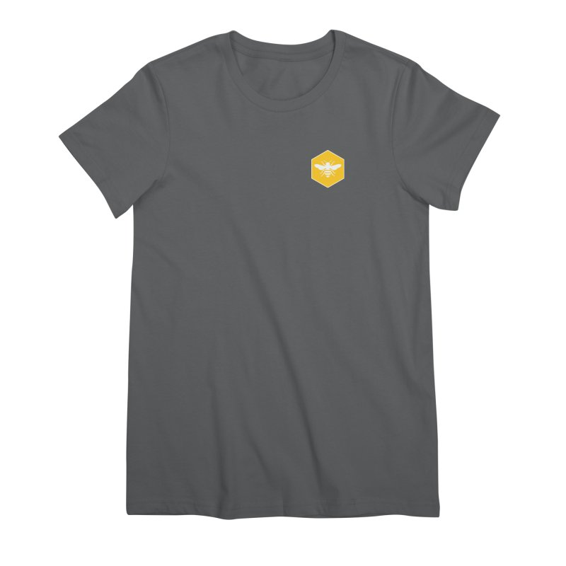 Bee Badge Women's T-Shirt by DRACULAD Shop