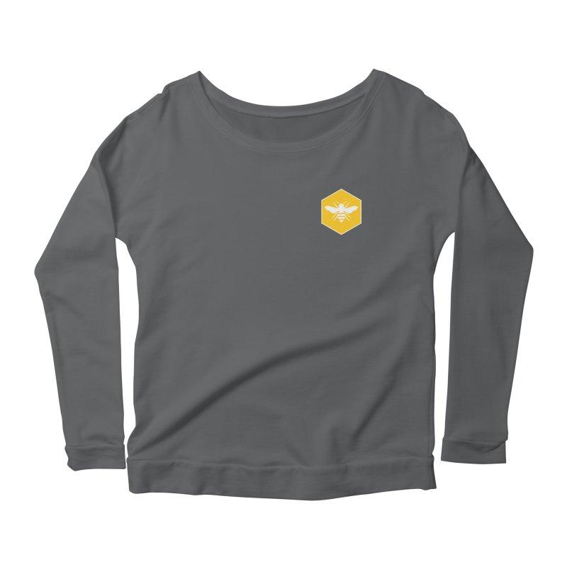 Bee Badge Women's Longsleeve T-Shirt by DRACULAD Shop
