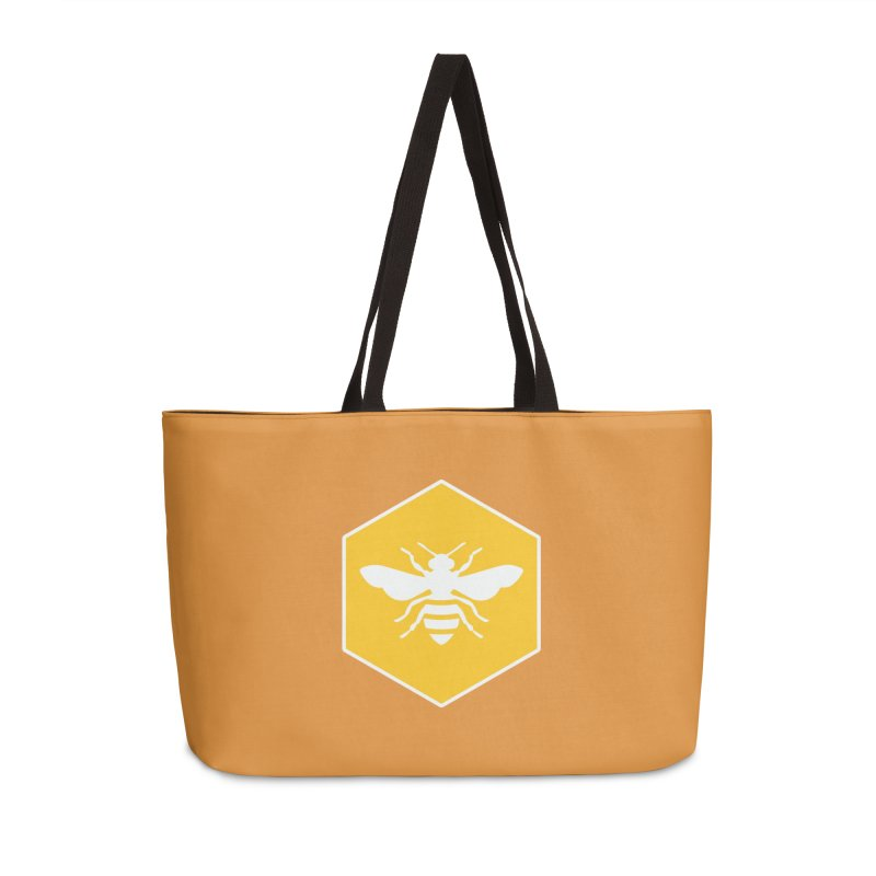 Bee Badge Accessories Bag by DRACULAD Shop