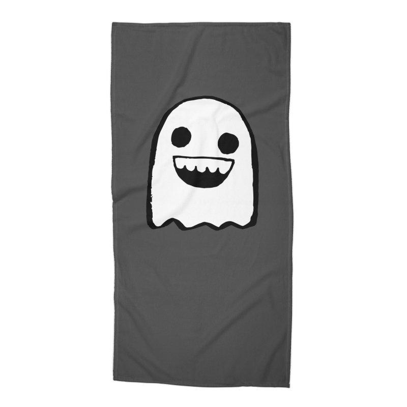 Nice Ghost Accessories Beach Towel by DRACULAD Shop