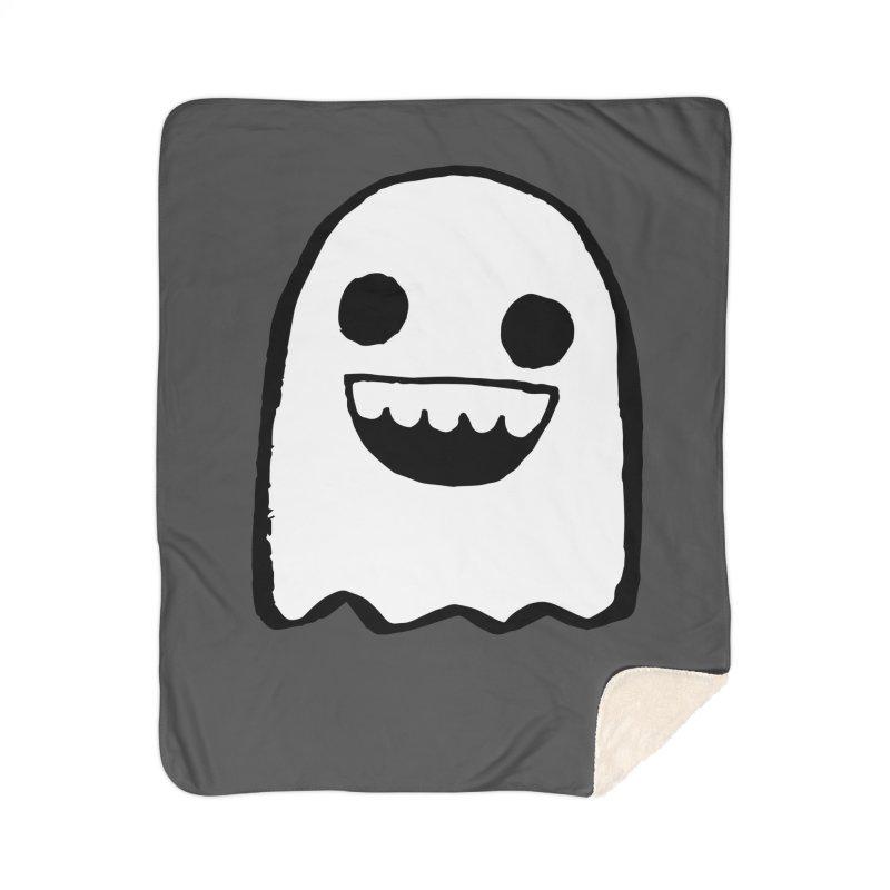 Nice Ghost Home Sherpa Blanket Blanket by DRACULAD Shop