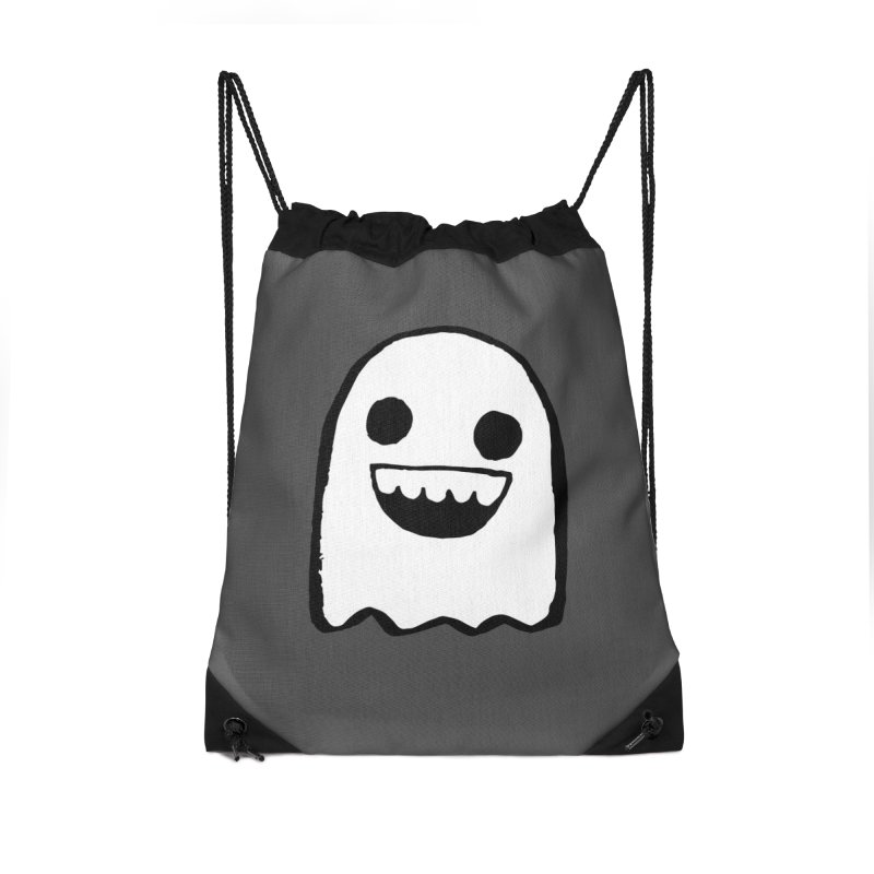 Nice Ghost Accessories Drawstring Bag Bag by DRACULAD Shop