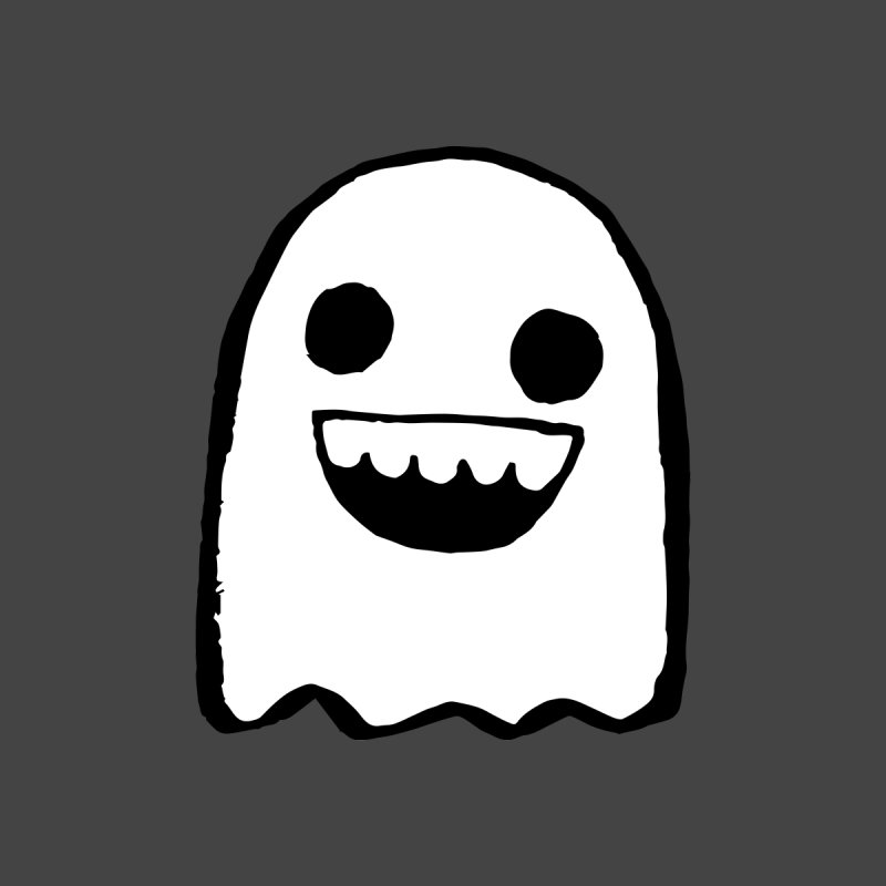 Nice Ghost Home Stretched Canvas by DRACULAD Shop